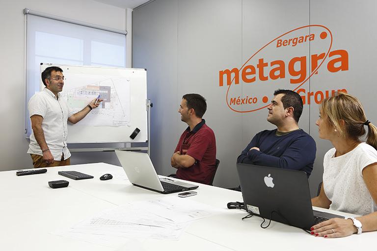 Das Metagra-Team besteht aus über 100 Personen.